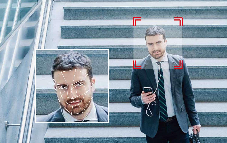 Monitoring inteligentny detekcja twarzy face detection HikVision & Dahua