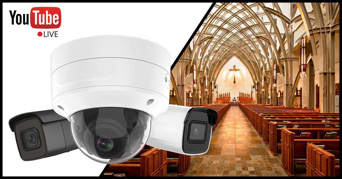 Live Streaming z kamer na YouTube na żywo HikVision