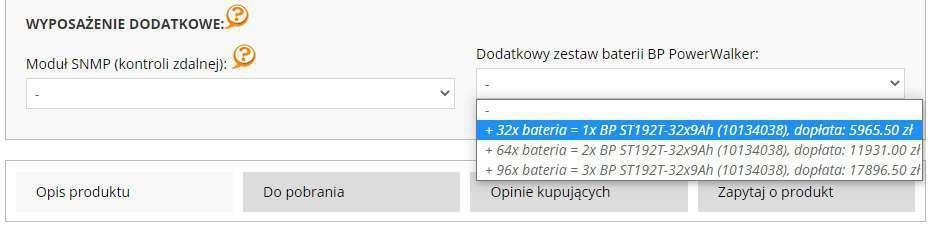 Jaki wybrać zestaw baterii do ups power walker