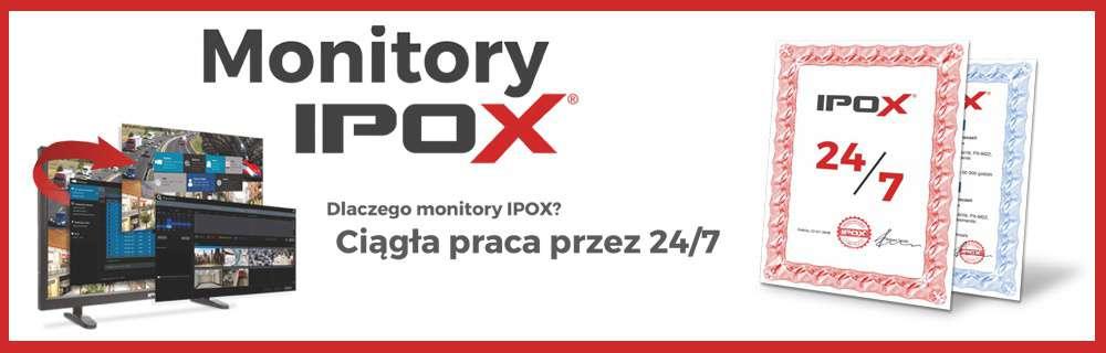 monitory ipox 24x7 24/7 do pracy całodobowej