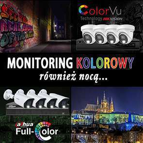 Full Color vs ColorVU monitoring KOLOROWY całą dobę