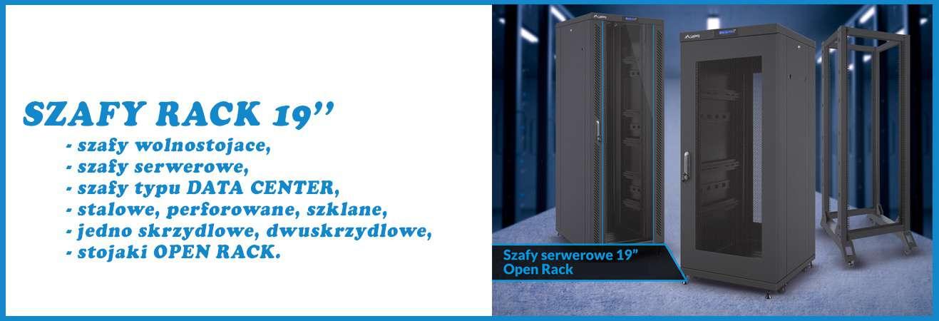 szafy stojące serwerowe rack 19