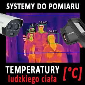 Systemy do pomiaru temperatury ludzkiego ciała