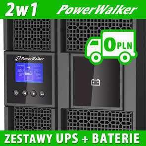Zestawy UPS z Battery Packiem