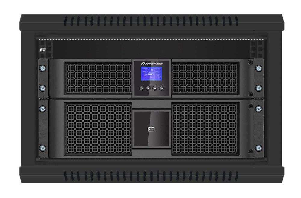 VFI 10000 RT HID PowerWalker montaż RACK