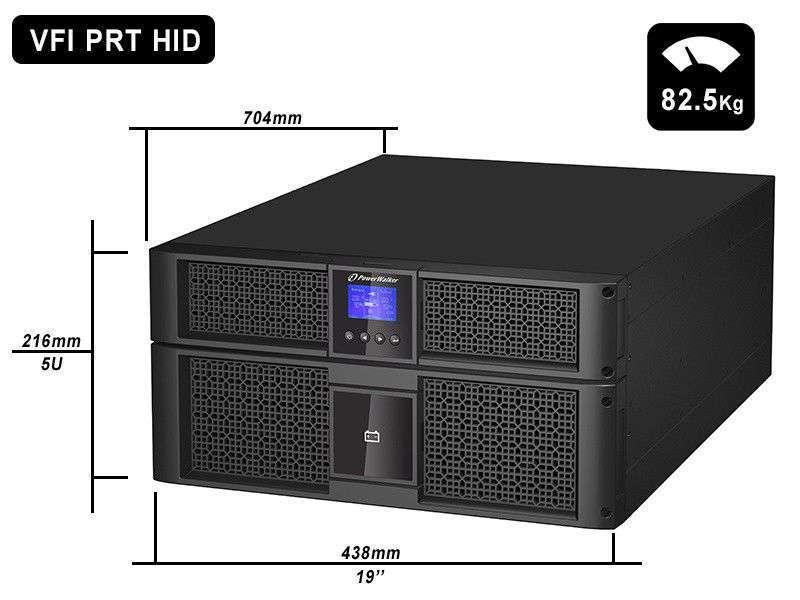 VFI 10000 PRT HID PowerWalker wymiary i waga