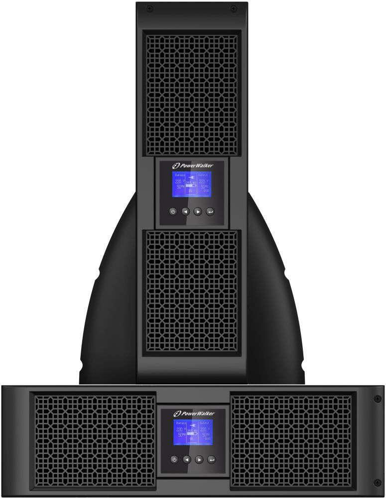 Zasilacz UPS rack 6kVA/5.4kW VFI 6000 PRT HID PowerWalker
