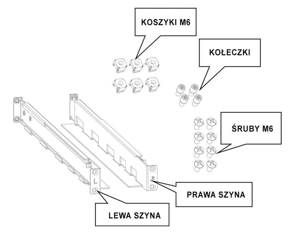 ☆ wysuwane ☆ regulowane ☆ do zasilaczy z serii VFI R LCD / VFI RM / VFI CRM / VFI RTS / VFI RMG / VFI R1U
