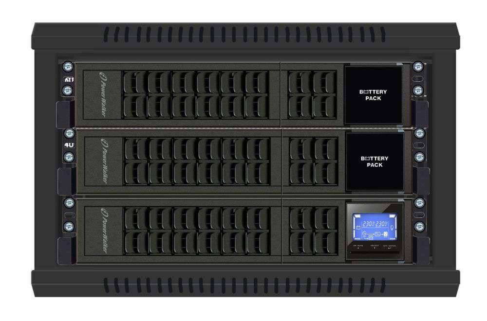 Battery Pack A192R-16x9Ah PowerWalker BP 10134007 montaż RACK