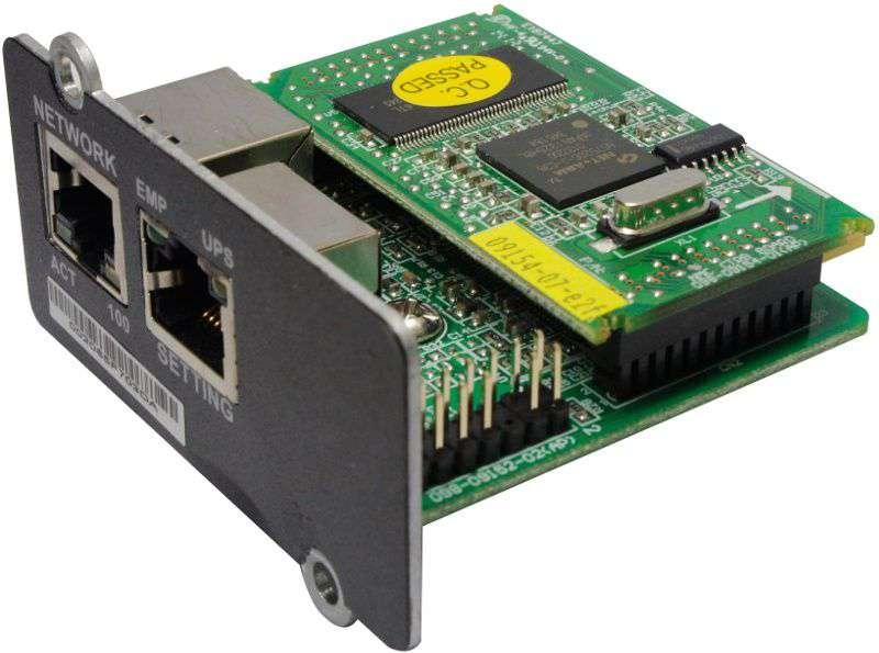 Moduł SNMP dla UPS PowerWalker karta zdalnej kontroli 10120599