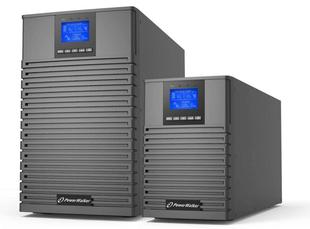 Zasilacz UPS online 3kVA/3kW VFI 3000 ICT IoT PowerWalker