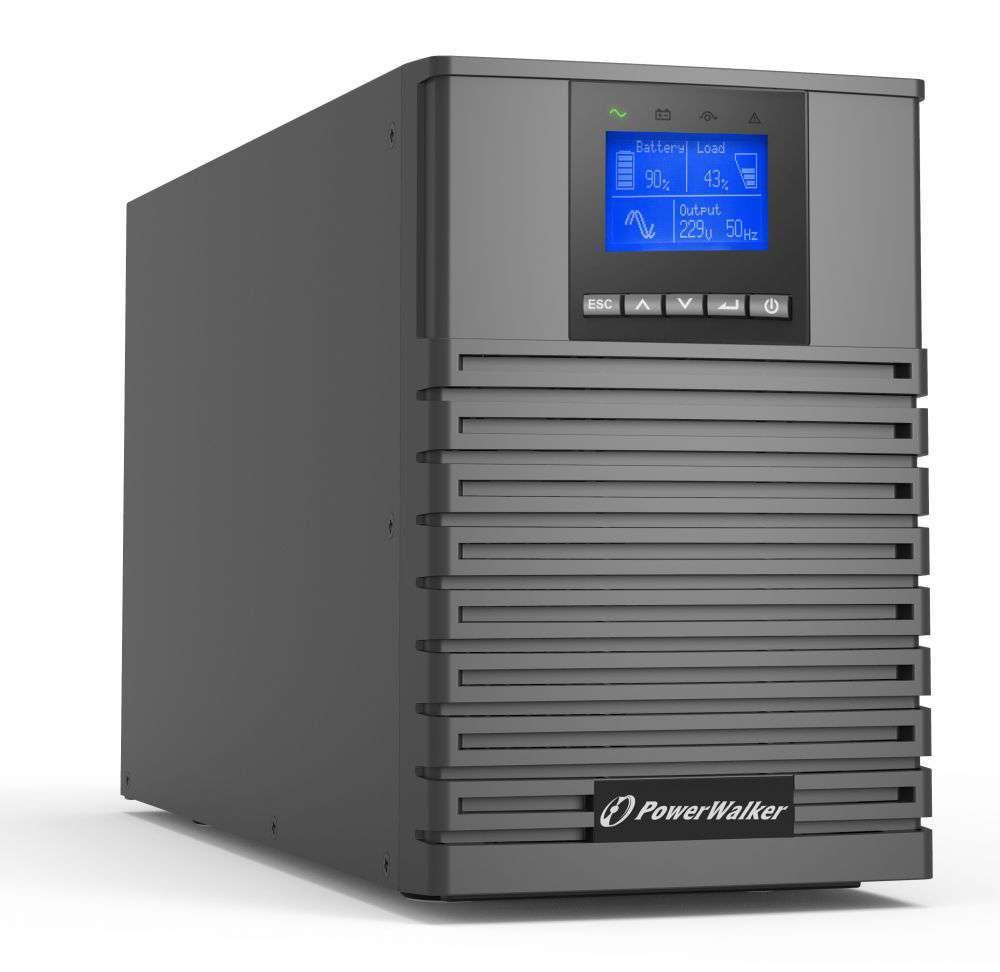 Zasilacz UPS online 1kVA/1kW VFI 1000 ICT IoT PowerWalker