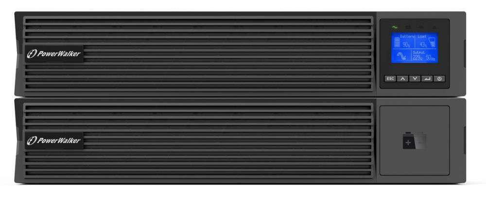 Zasilacz UPS online 3kVA/3kW VFI 3000 ICR IoT PowerWalker RACK