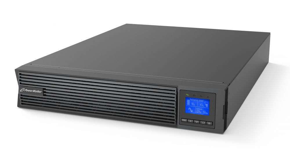 Zasilacz UPS online 2kVA/2kW VFI 2000 ICR IoT PF1 PowerWalker
