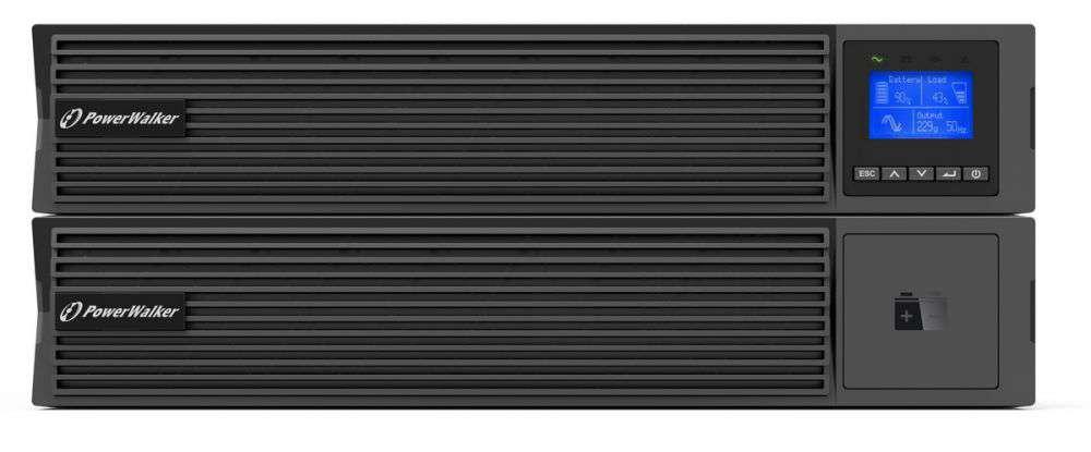 Zasilacz UPS online 2kVA/2kW VFI 2000 ICR IoT PF1 PowerWalker RACK 19