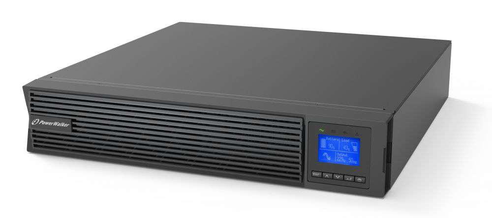 Zasilacz UPS online 1500VA/1500kW VFI 1500 ICR IoT PF1 PowerWalker