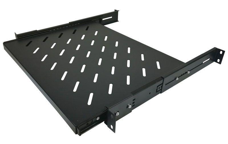 1U / 550mm - Wysuwana półka RACK 19'' BL-SH4055CWD Base Link czarna