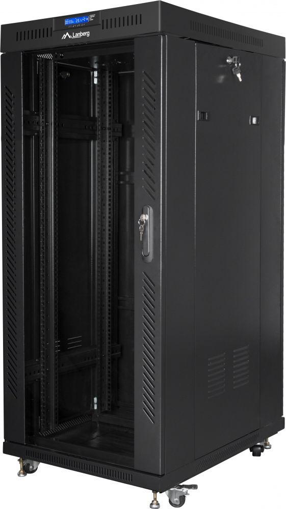 szafa instalacyjna rack 19 lanberg ff01-6827-12bl