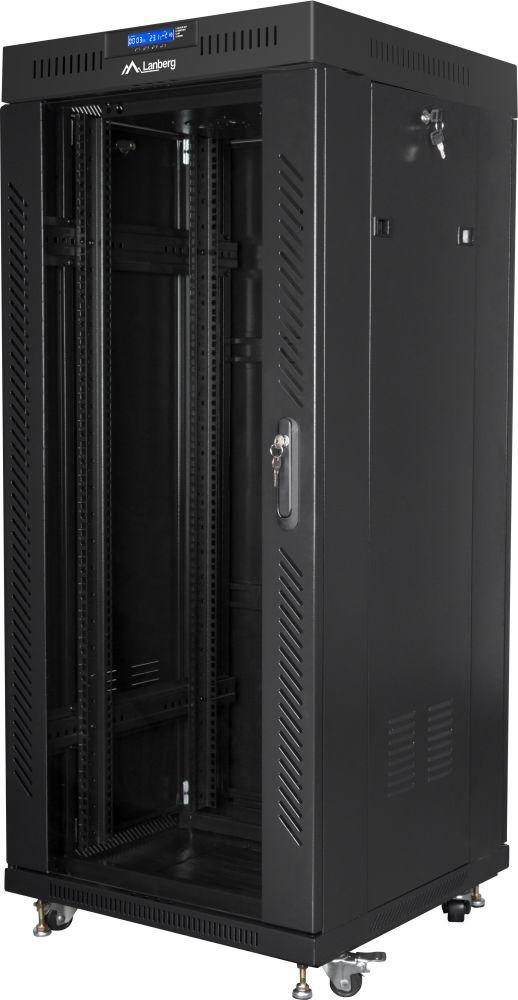 szafa instalacyjna rack 19 lanberg ff01-6627-12bl