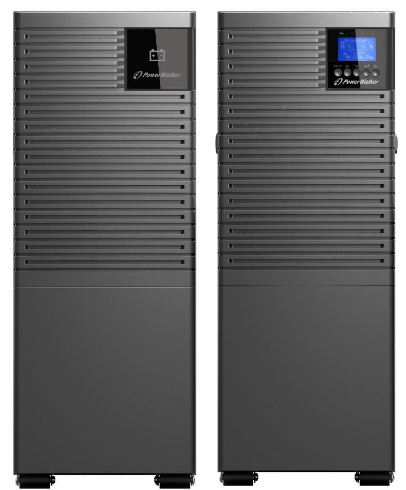 Zasilacz UPS online 6kVA/6kW VFI 6000 ICT IoT PF1 PowerWalker Tower