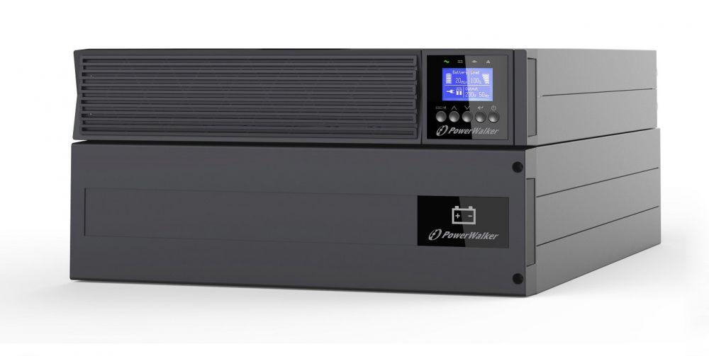Zasilacz UPS online 6kVA/6kW VFI 6000 ICR IoT PF1 PowerWalker