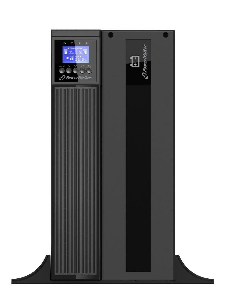 Zasilacz UPS online 6kVA/6kW VFI 6000 ICR IoT PF1 PowerWalker Tower