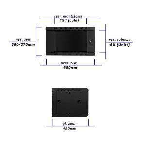 gigabit ethernet switch do szafy rack 19