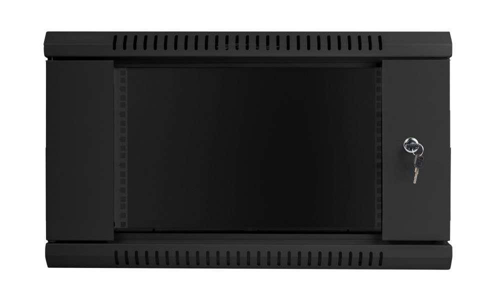 6u 450mm szafa rack 19 czarna