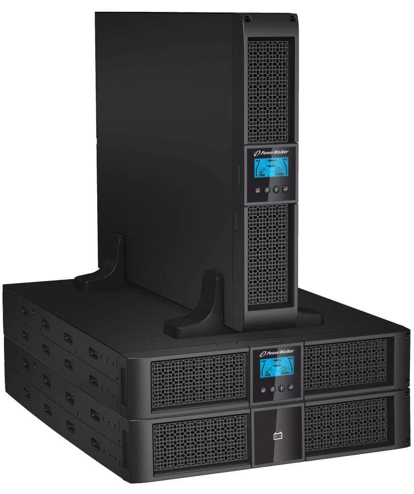 2w1 Zestaw zasilania awaryjnego UPS VFI 1500 RT HID + BP P48R-8x9Ah (10134011)
