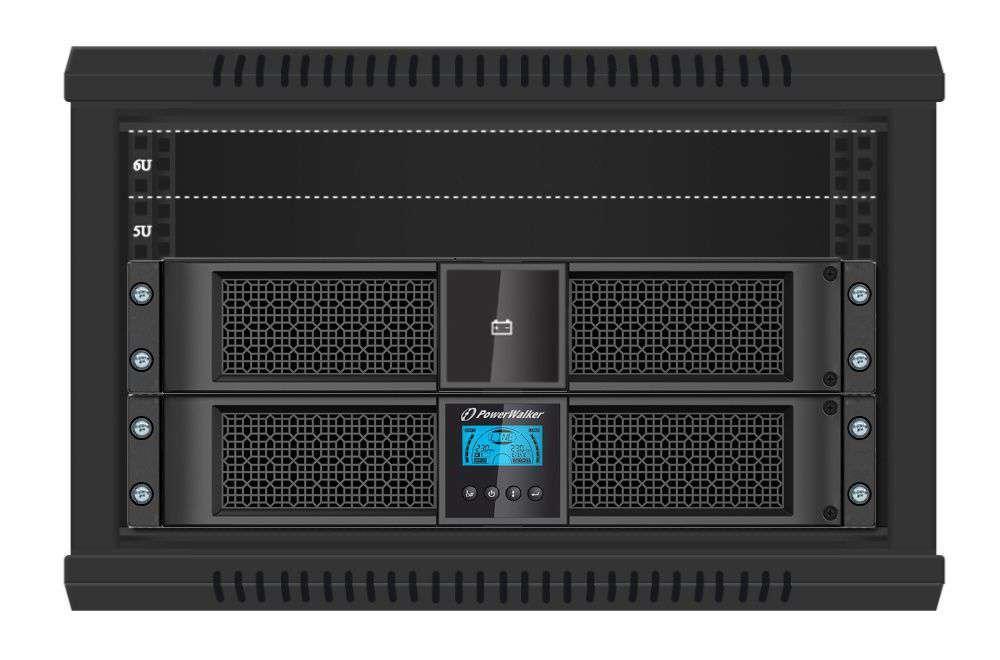 2w1 Zestaw zasilania awaryjnego UPS VFI 2000 RT HID + BP P48R-8x9Ah (10134011)
