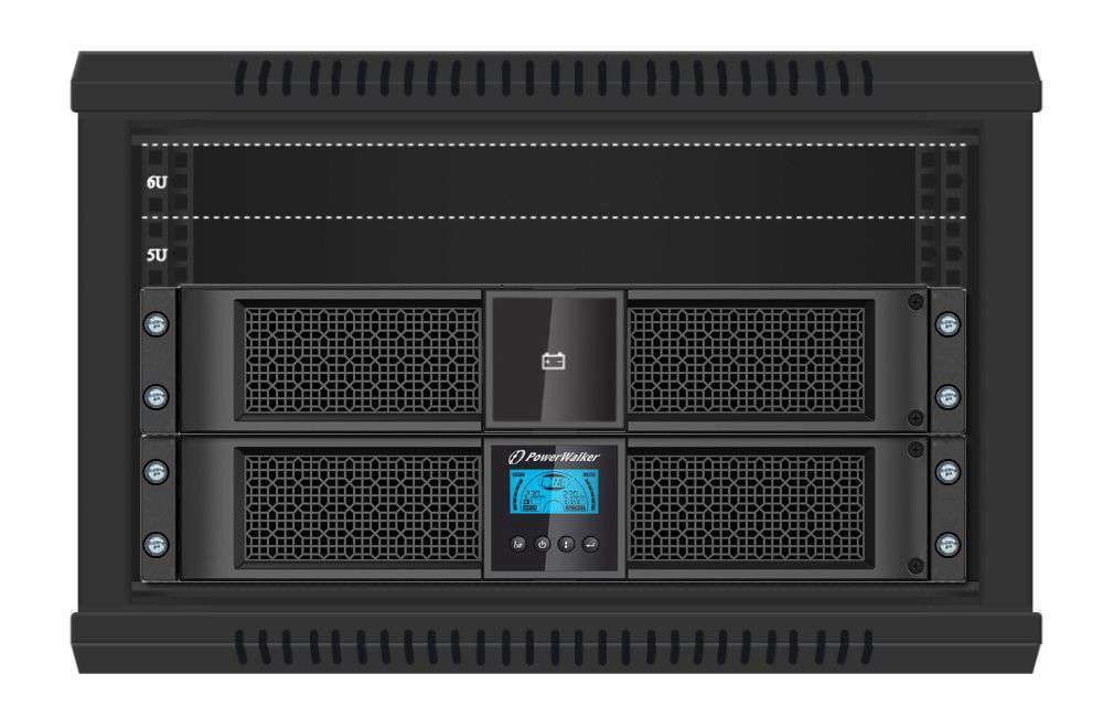 2w1 Zestaw zasilania awaryjnego UPS VFI 1000 RT HID + BP P36R-6x9Ah (10134010)