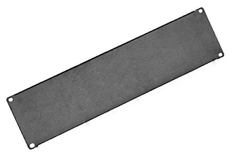 3U - Panel zaślepiający CFG03-A Linkbasic czarny RAL9004