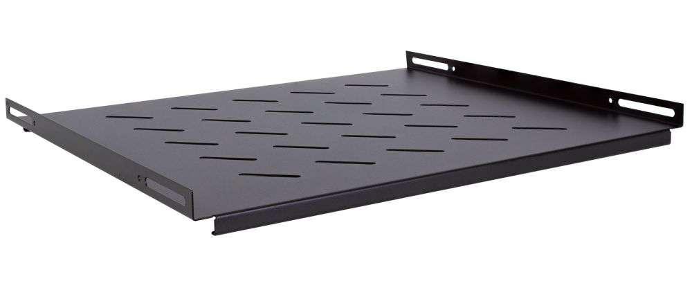 Stała półka głębokości 425mm CFB60-1.2-A-WCB LINKBASIC czarna RAL9004