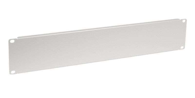 2U - Panel zaślepiający CFG02-B Linkbasic szary RAL7044