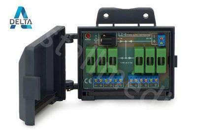 Rozgałęźnik zasilania LZ-6 do kamer (z bezpiecznikiem)