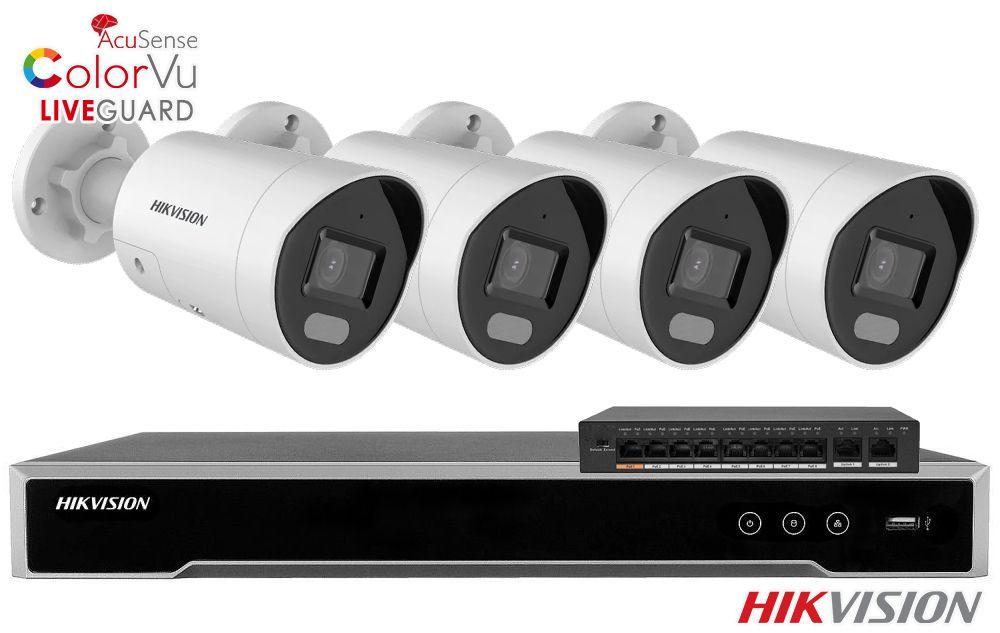 Zestaw do monitoringu IP ZMIP-HIK4KB40/IR30 (4MPX) HikVision