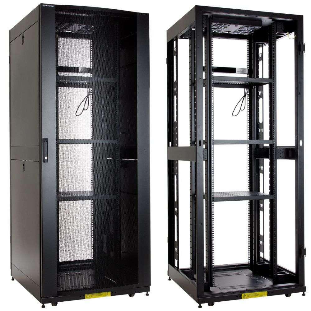 "Szafa Rack 19"" 42U 800x1100 Linkbasic NCF42-810-KLA-C - serwerowa"