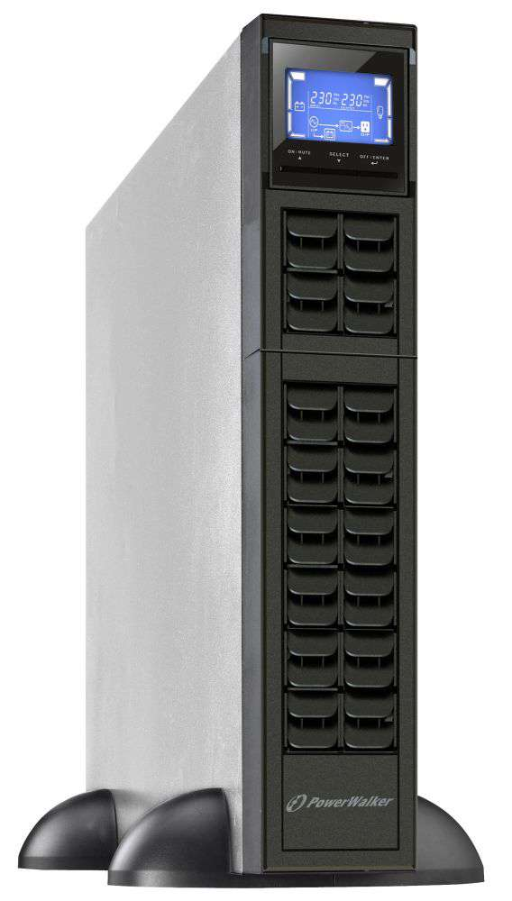 "Zasilacz UPS rack 19"" 1000VA/800W VFI 1000 CRM LCD PowerWalker"