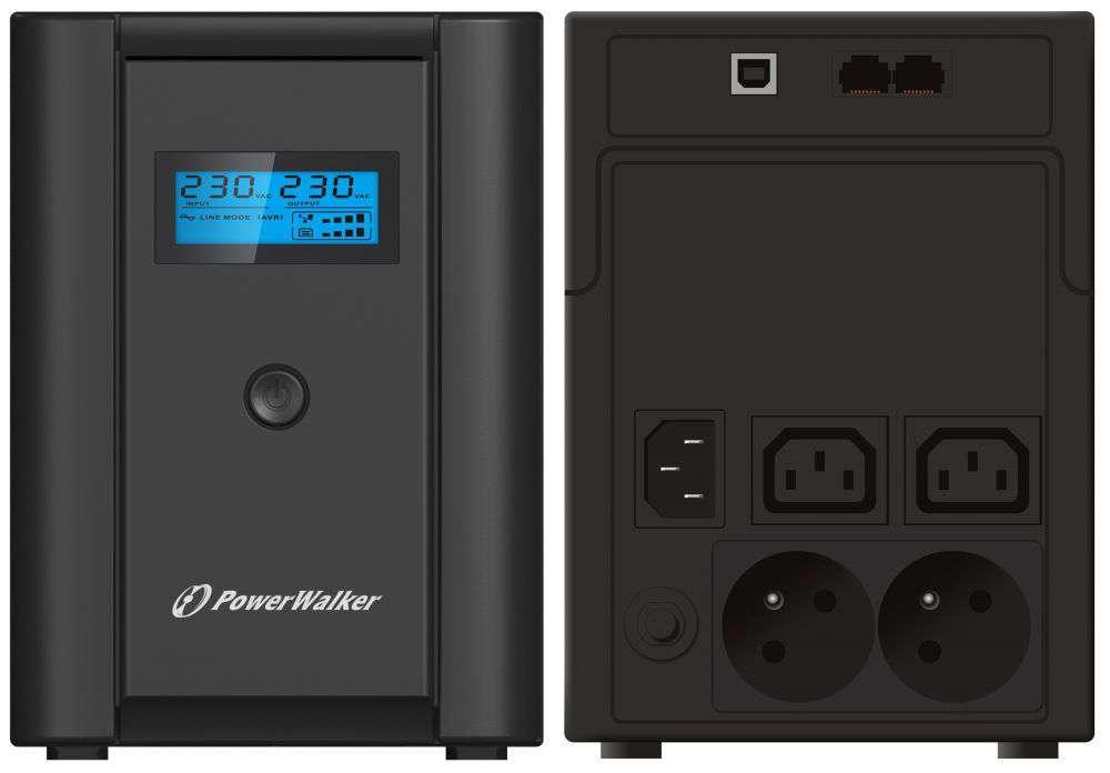 Zasilacz UPS awaryjny 1200VA/600W VI 1200 SHL FR PowerWalker