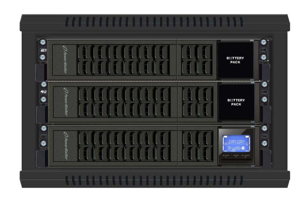 Battery Pack A24R-4x9Ah PowerWalker BP 10134013 montaż RACK
