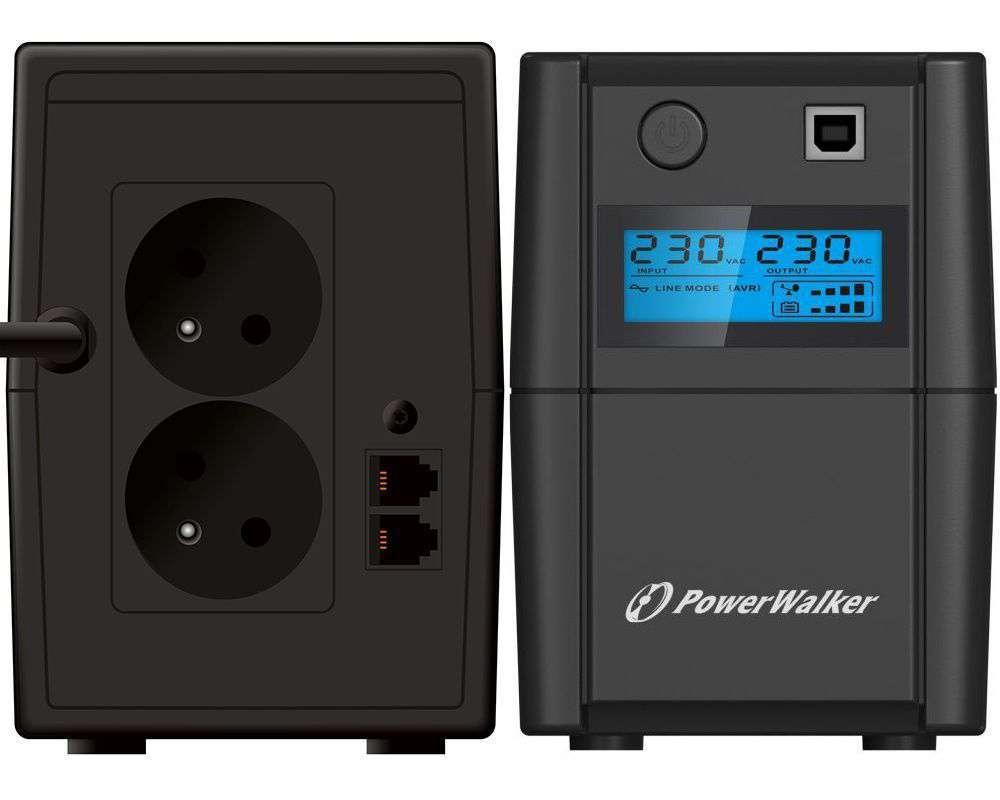 Zasilacz UPS awaryjny 650VA/360W VI 650 SHL FR PowerWalker