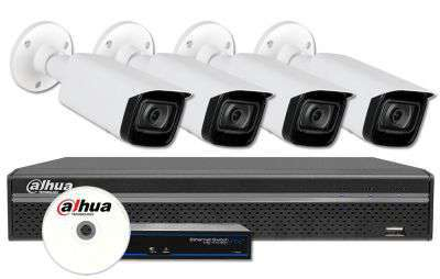Zestaw do monitoringu IP ZMIP-DAH4KB20/IR80 (2MPX) DAHUA