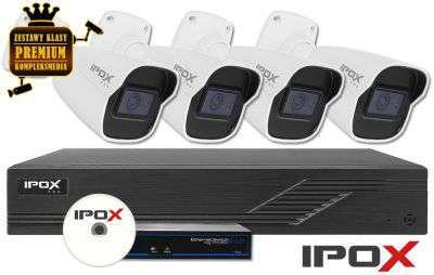 Zestaw do monitoringu IP ZMIP-IPO4KB40/IR30 (4MPX) IPOX