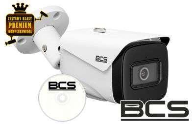 4x Kamera IP tubowa BULLET (4MPX)