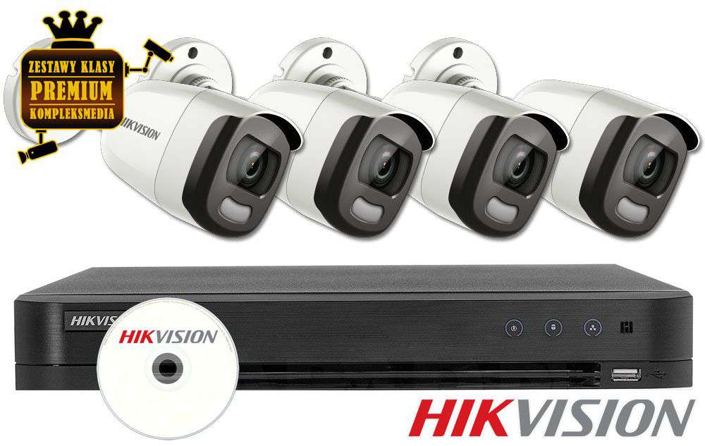 Zestaw do monitoringu IP ZMTVI-HIK4KB50/CV (5MPX) HikVision