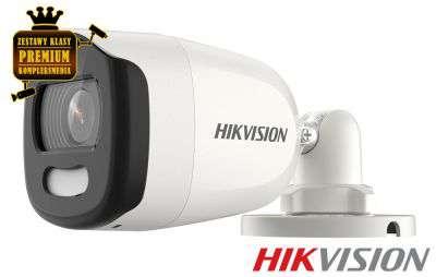 4x Kamera HD-TVI tubowa ColorVU (5MPX)