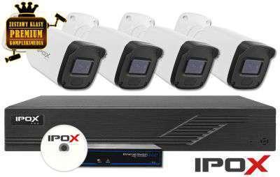 Zestaw do monitoringu IP ZMIP-IPOX4KB20/IR30 (2MPX) IPOX