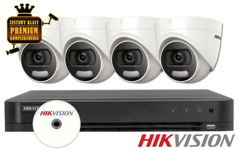 Zestaw do monitoringu IP ZMTVI-HIK4KD50/CV (5MPX) HikVision