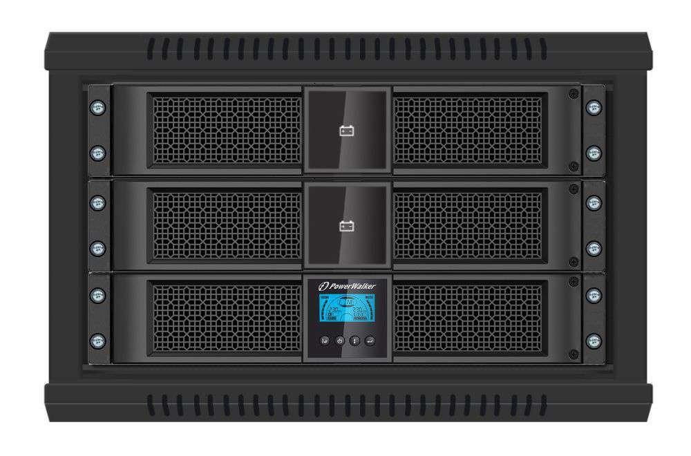 Battery Pack P48R-8x9Ah PowerWalker BP 10134011 montaż RACK