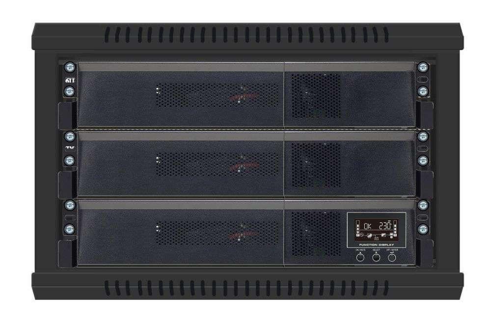 Battery Pack A72RM-12x9Ah PowerWalker BP 10120550 montaż RACK